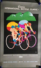 Coors International Bicycle Classic 1983  & 1986 World Championship Poster Bonus