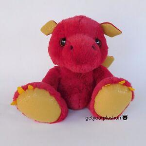 AURORA RED BABY DRAGON PLUSH