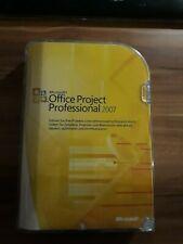 Microsoft Office Project 2007 Professional deutsch Retailbox inkl. DVD H30-01858