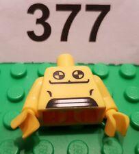 Lego minifigures serie 1 Crash Test Dummy cuerpo/torso