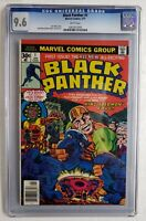 BLACK PANTHER #1 CGC 9.6 1ST SOLO SERIES 🔥🔥 ENDGAME PHASE 4 MCU AVENGERS 1977