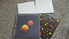 Wings [The Beatles] - Venus and Mars Vinyl LP GERMANY 2 Poster & Sticker