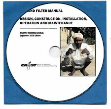 ATTENTION! MAKE YOURSELF BIO-SAND WATER FILTERS PRESENTED ON CD-ROM