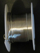20 Gauge SILVER Crafts Beading Jewelry WIRE LOT 45 Feet Per Spool NEW