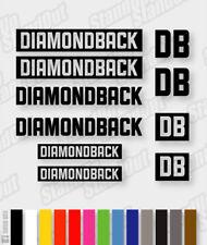 DIAMONDBACK Die-cut Decal Sticker sheet (cycling, mtb, bmx, bike, frame) - V8