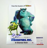 Billy Crystal Signed Autograph Monsters INC Movie Poster PSA/DNA COA