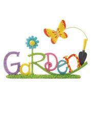 GARDEN Resin Butterfly Blossom Bucket NWT Gardener Gift 8.5 x 6