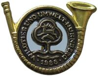 GERMANY JAGD ABZEICHEN, HUNTING MEDAL  1986  #p6 243