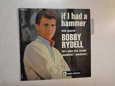 "BOBBY RYDELL: If I Had A Hammer +3-France 7"" 1963 Cameo-Parkway No 217007 EP PCV"