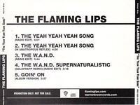 THE FLAMING LIPS Yeah Yeah Yeah Song (CD 2006) USA 5-Track PROMO Single