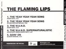 THE FLAMING LIPS Yeah Yeah Yeah Song (CD 2006) USA 5-Track PROMO Single