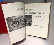 The Picture History of World War II 1939-1945  Pub Grosset & Dunlap Coffee Table