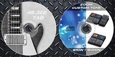 Patches ZOOM G1on-G1Xon Multi Effects. Custom Tone Preset & 48.328 Guitar TAB