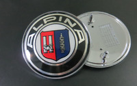 * For Alpina 82mm 2 Pin Emblem Badge Bonnet Rear Front Hood Logo Auto *