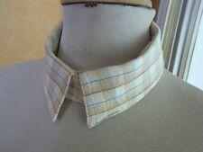 COL N12 ANCIEN faux col de chemise coton homme OLD DETACHABLE COLLAR Cuello