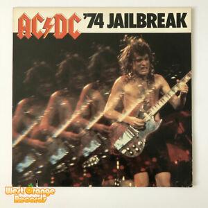 AC/DC, '74 Jailbreak, Vinyl LP, 1984 USA pressing, EX+/EX+