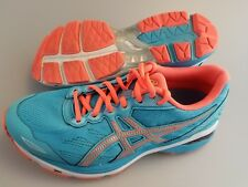ASICS GT-1000 (T6A8N) Aquarium/Coral/Silver Athletic Running Shoes Women's US 7