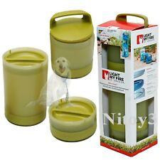 New listing Light My Fire Add-a-Twist Stackable Container Food-Gear Organizer - 3-in-1