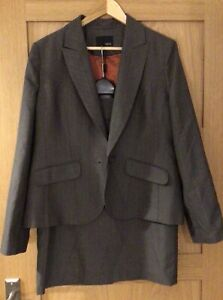Next Tailored Skirt Suit Two Piece Size 16 reg