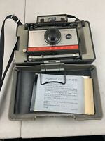 Polaroid Automatic 210 Instant Film Land Camera with Manual & Box 1960s Vintage