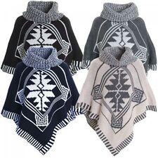 Mädchen-Pullover & -Strickware aus Acryl mit Poncho