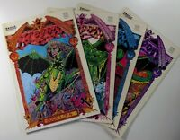 Comics Interview DRAGON (1987) #1 2 3 4 COMPLETE Copper Age LOT Run SHIPS FREE!