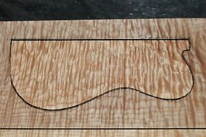 """AWESOME QUILTED MAPLE 23 7/8"""" X 12 3/4"""" X 1 15/16"""" GUITAR, LUTHIER, CRAFT,SCALES"""