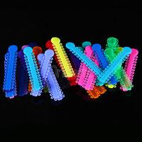 1040Pcs Dental Orthodontic Ligature Ties Elastic Rubber Band Brace Multi-Color
