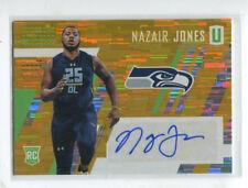2017 Unparalleled Autograph Yellow Nazair Jones/49 Seattle Seahawks