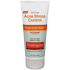 Neutrogena Acne Stress Control Power-Cream Wash - 6 oz