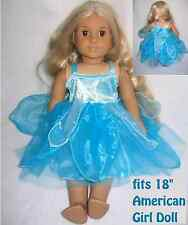 "AMERICAN GIRL DOLL DRESS BLUE FAIRY DRAGONFLY OUTFIT fit 18"" AMERICAN GIRL DOLL"