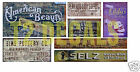 N Scale Ghost Sign Decals #38- Weather Your Buildings & Structures!