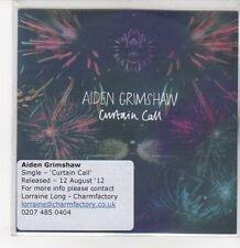(DQ894) Aiden Grimshaw, Curtain Call - 2012 DJ CD