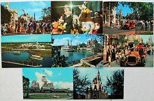 Fairground postcards x 6 wookey hole caves