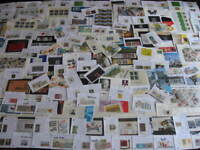West Germany, Berlin premium boxlot souvenir sheets,stamps in sales cards etc
