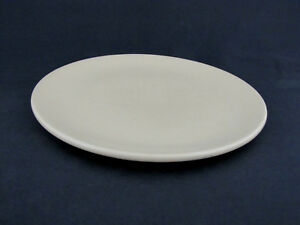 """Dinner Plate in Satin Ivory by Catalina Island Pottery, 10 1/8"""" diameter"""