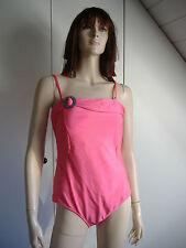Unifarbene Damen-Badeanzüge mit Bandeau