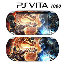 Vinyl Decal Skin Sticker for Sony PS Vita PSV 1000 Mortal Kombat