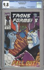 Marvel Comics TRANSFORMERS #77 CGC 9.8 NM/MT (1990) White Pages