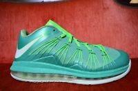 """NIKE AIR MAX LEBRON 10 LOW """"EASTER"""" 2013 579765 300 Size 8.5 Emerald Green"""