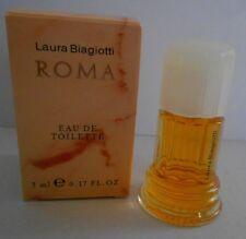 Miniature de parfum  Roma de Laura Biagiotti eau de toilette 5 ml