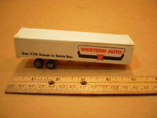Vintage Majorette 1/100 Semi Trailer Reefer Made In France Western Auto