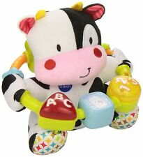 Musical Baby Toddler Song Play Fun Learn Toy Soft Cuddly Stuffed Animal Cow Gift