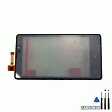 Nokia Lumia 820 Glass Touch Screen Digitizer with Frame BLACK