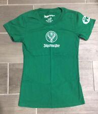 New Womens Jagermeister T Shirt Green Size Small Medium