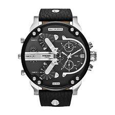 Neu Diesel DZ7313 Herren Schwarz Ziffernblatt Papa 2.0 Armbanduhr UK Verkäufer