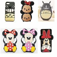 Newest Cute 3D Cartoon Animal Soft Silicone Gel Back Cover Case Fo Various Phone