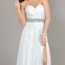 Jovani 111144 White Size 2 Special Occasion Dress-Prom-Wedding-Home comming