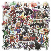 50Pcs Avengers Marvel Super Hero Stickers Pack Laptop Luggage Skateboard Decals