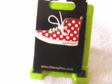 Disney * MINNIE - LACED UP SNEAKER * New on Card Trading Pin